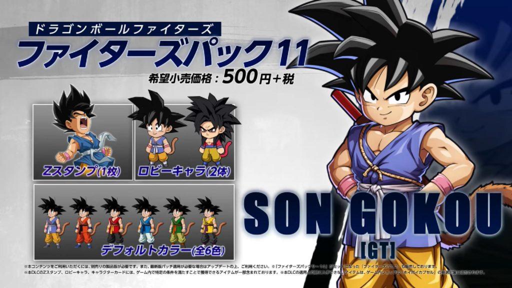 Goku GT Costumi alternativi