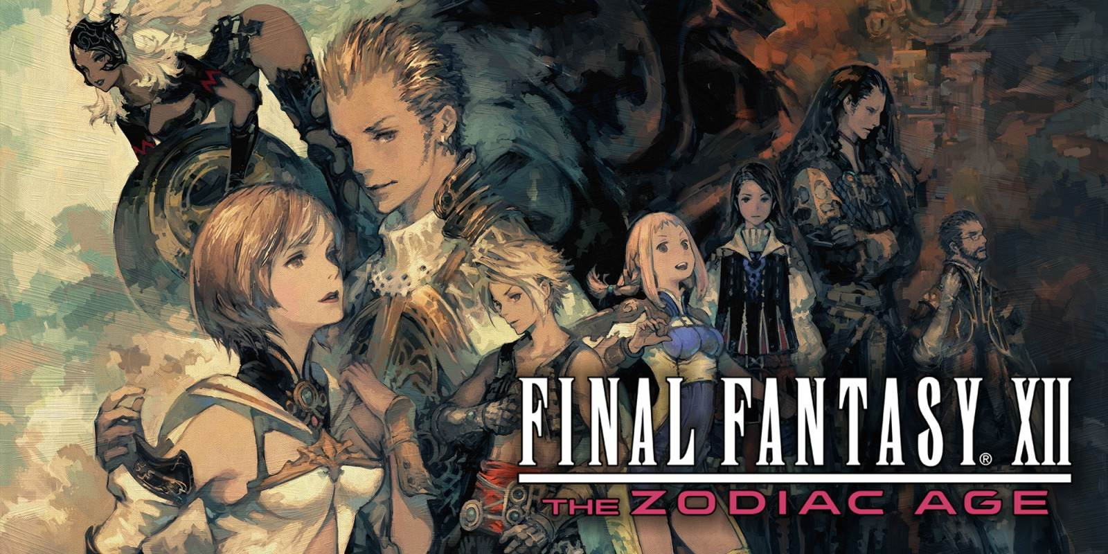 Final Fantasy XII The Zodiac Age Cover
