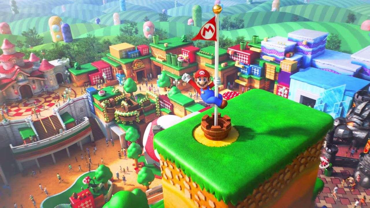 Super Nintendo World pubblicità