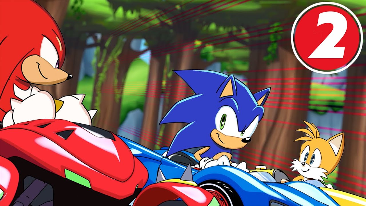 Team Sonic Racing Overdrive Cover