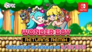 Wonder Boy Returns Remix Cover