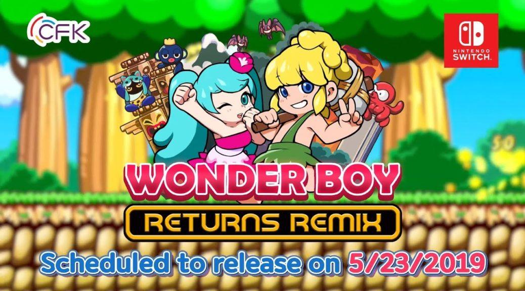 Wonder Boy Returns Remix Cover