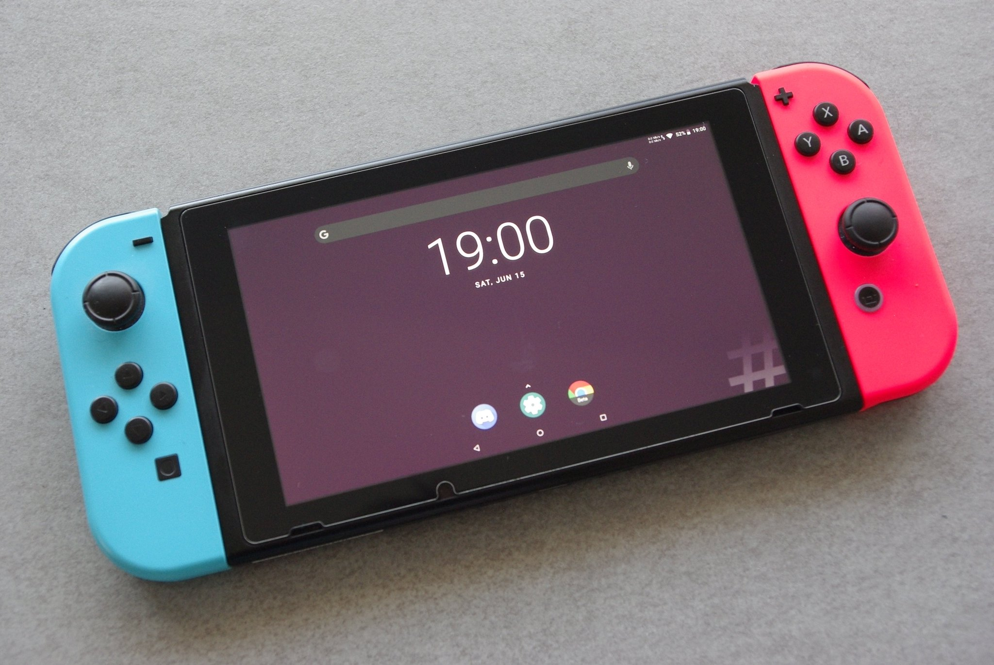 Nintendo Switch Android Homebrew