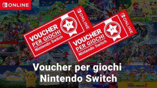 Voucher Nintendo Switch