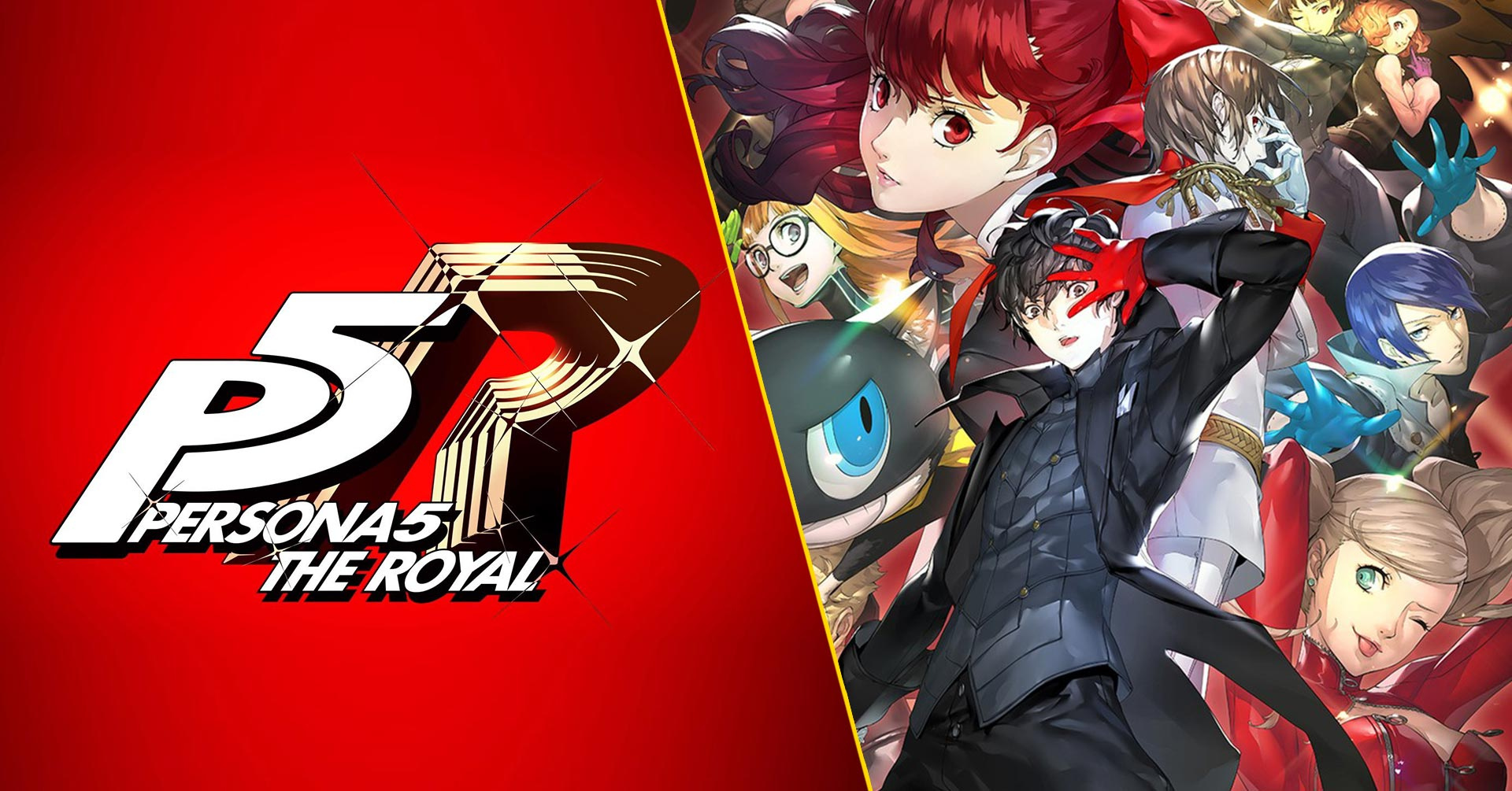 Persona 5 The Royal Cover