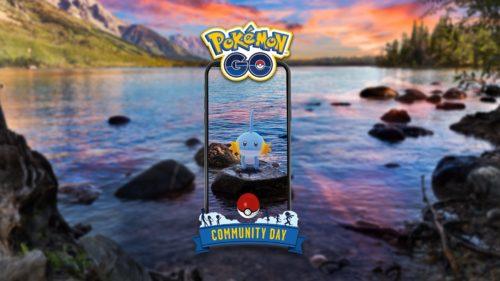 Mudkip Pokémon GO Community Day