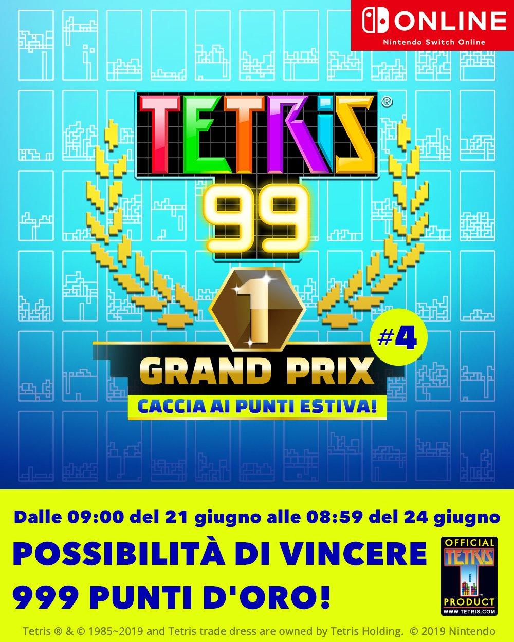 Tetris 99 Grand Prix 4