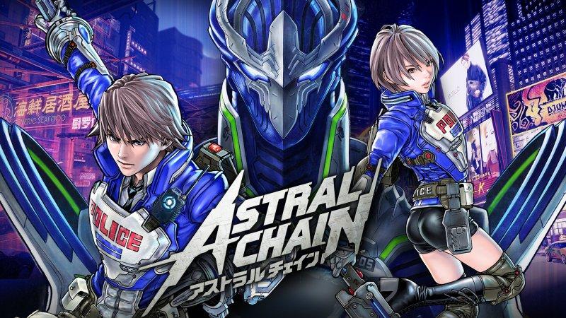 Astral Chain locandina