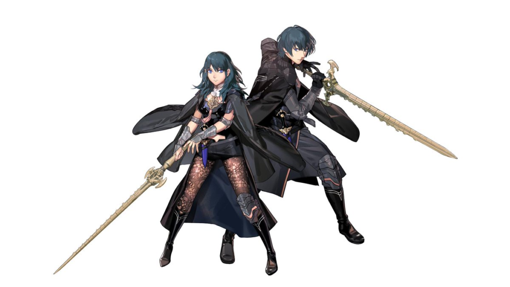 Byleth Artwork Fire Emblem Three Houses