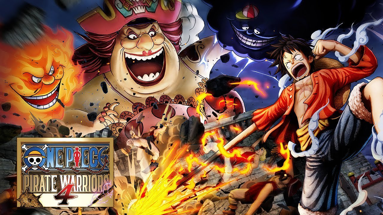 Locandina One Piece Pirate Warriors 4 locandina