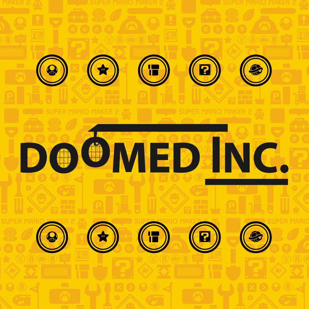 Super Mario Maker 2 Doomed Inc.