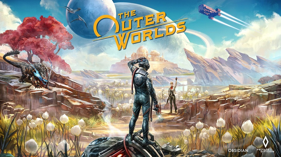 The Outer Worlds locandina
