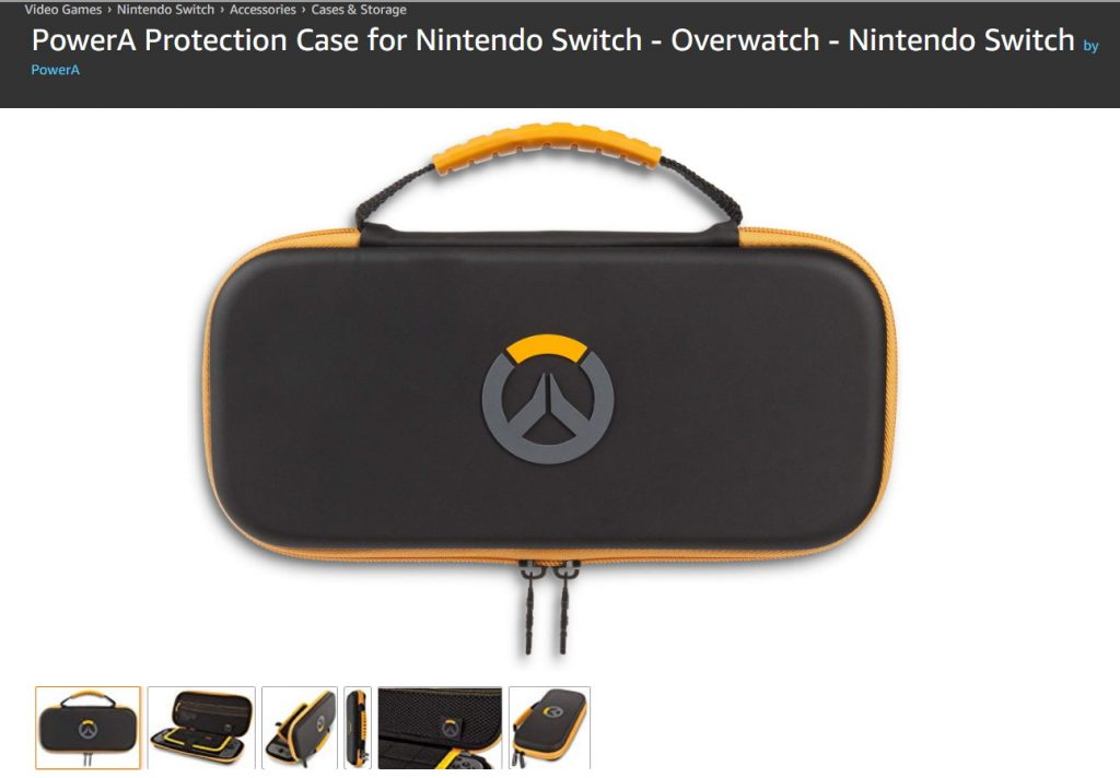CustodioSwitchOverwatch 1024x712 - Overwatch su Nintendo Switch? Forse.