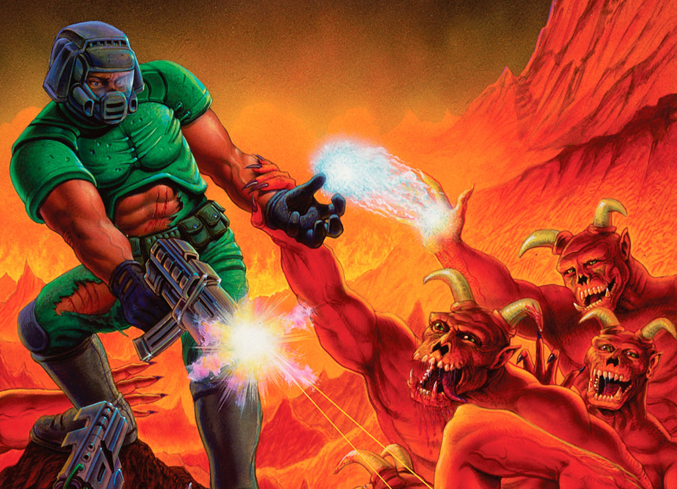 DOOM Nintendo Switch 1993