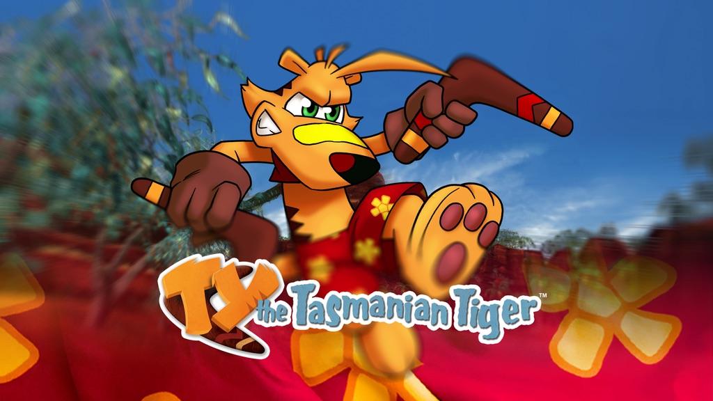 Ty la tigre della Tasmania