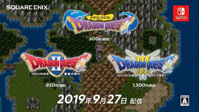 Dragon Quest I II III
