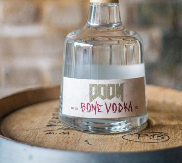 DOOM Bone Vodka Cover