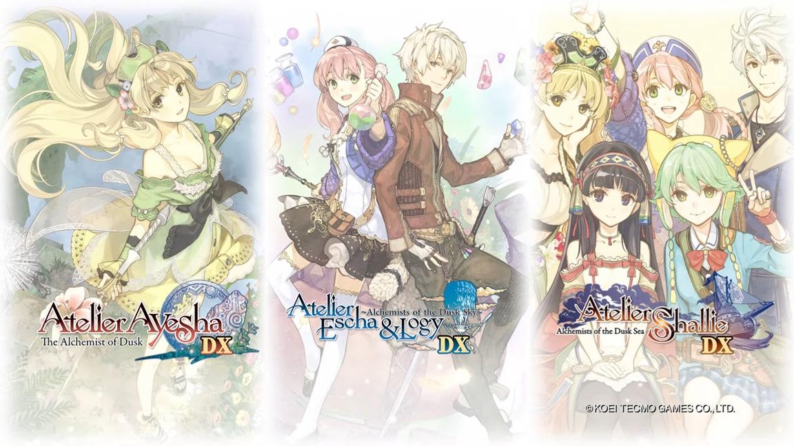 Atelier Dusk Trilogy Deluxe Pack: preordinabile dal 23 dicembre su eShop