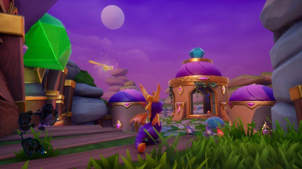 Spyro Reignited Trilogy barlume
