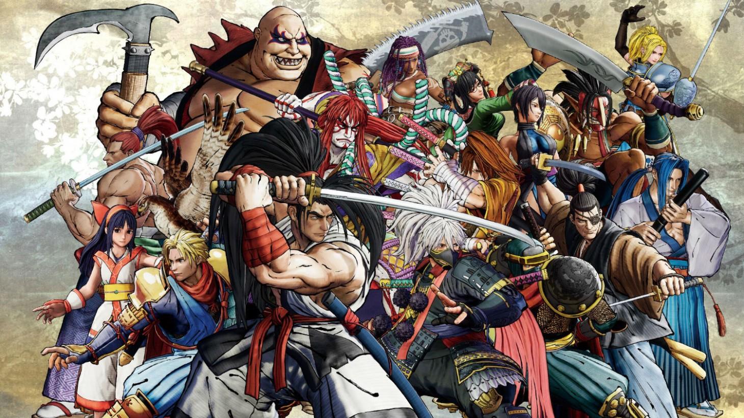 Cast Samurai Shodown