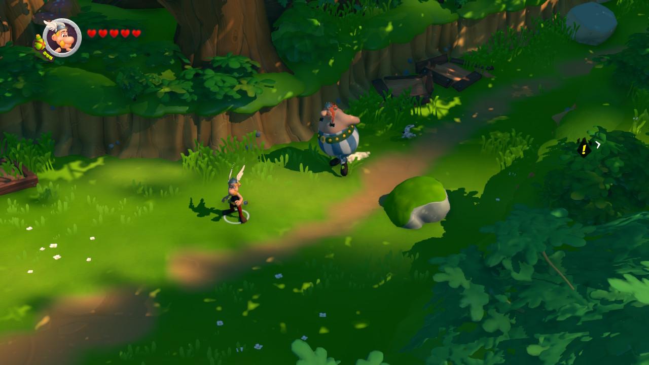 Screen del bosco gallico.