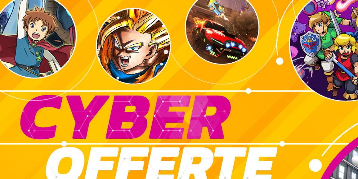 Nintendo Switch: in arrivo le Cyber Offerte del 2019 sull'eShop