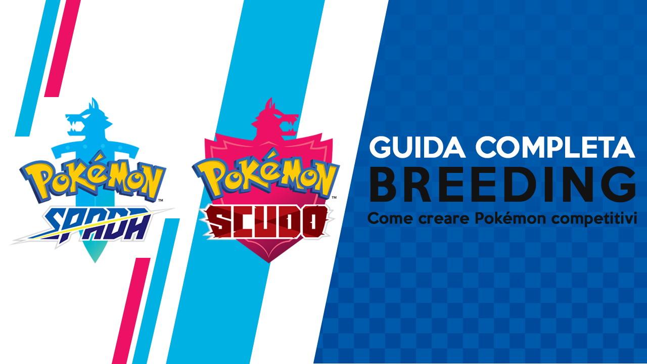 Pokémon Spada e Scudo Cover Guida Breeding