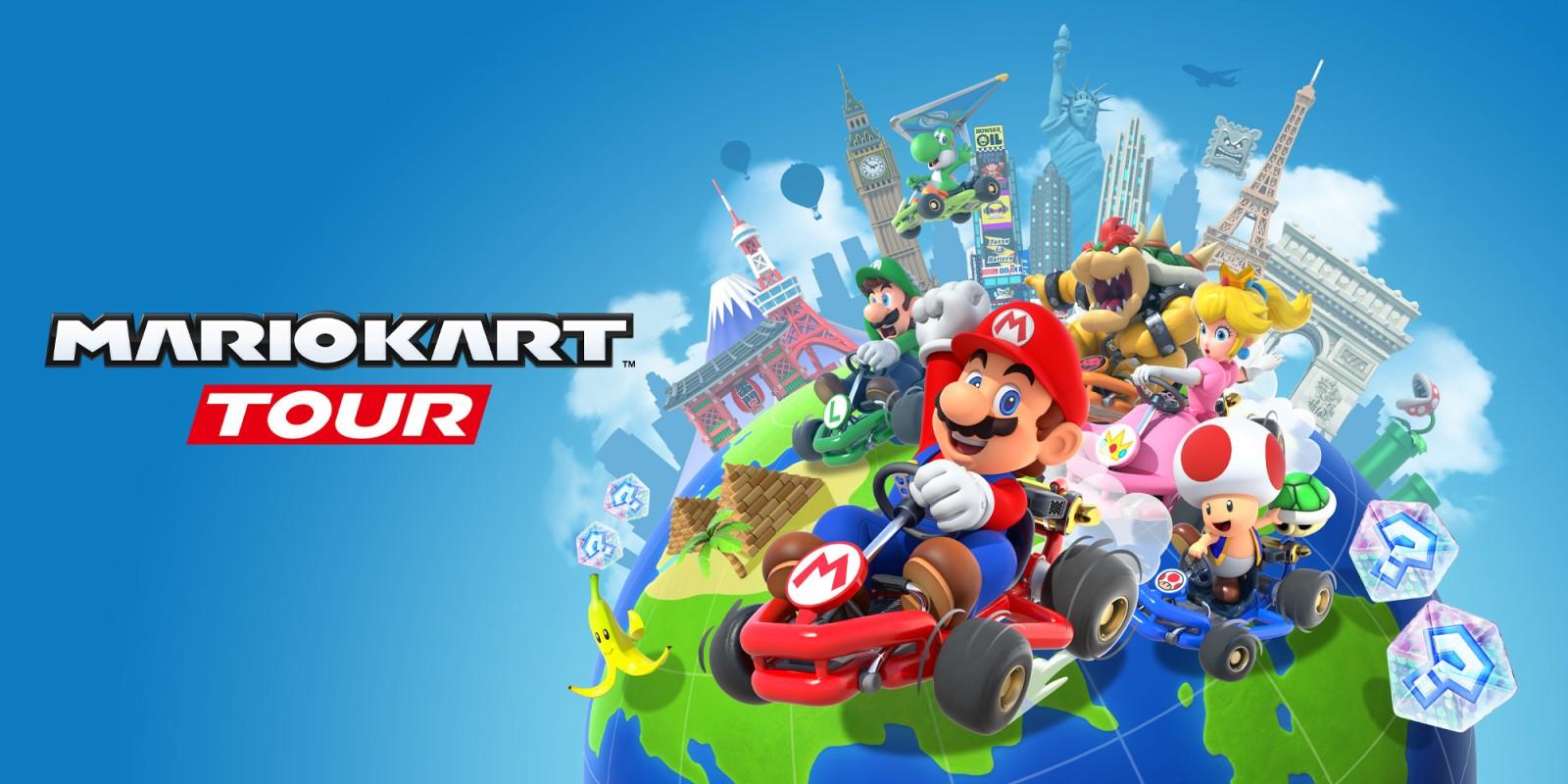 Mario Kart Tour Cover