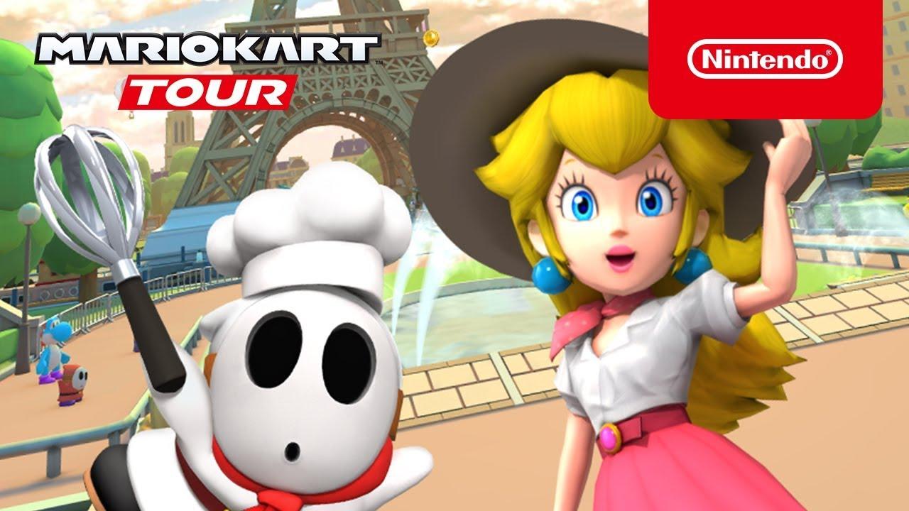 Mario Kart Tour - Tour di Parigi Copertina