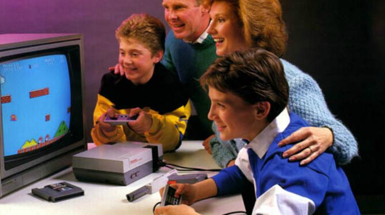 Nintendo e il tema della nostalgia in un'immagine con il NES