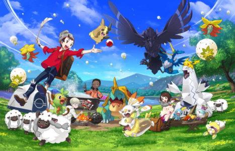 Pokémon Spada e Scudo Cover