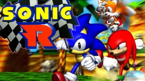 Sonic R Cover