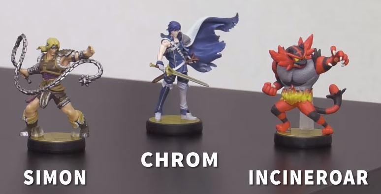 amiibo Simon Chrom Incineroar