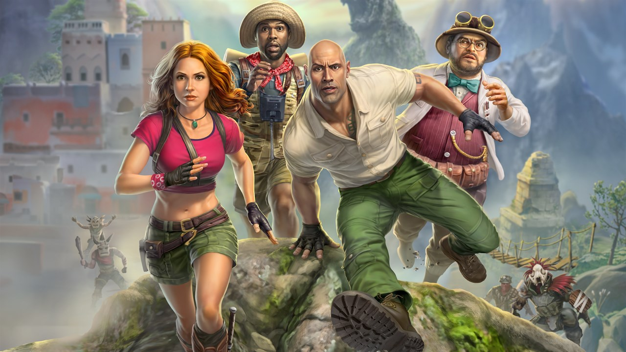 Jumanji: Il videogioco copertina
