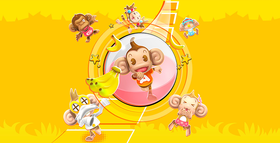 Copertina di Super Monkey Ball: Banana Blitz HD.