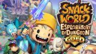 Copertina Snack World: Esploratori di Dungeon - Gold
