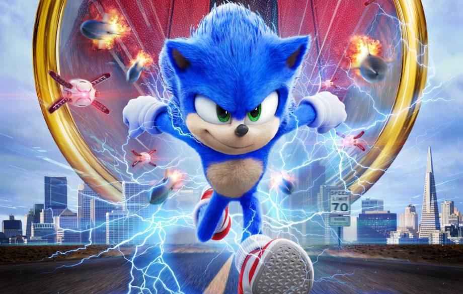 Sonic - Il film locandina