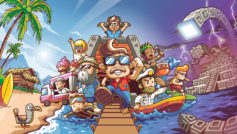 Illustrazione principale di The Touryst per Nintendo Switch