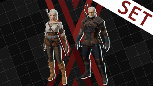 Set The Witcher 3 DAEMON X MACHINA