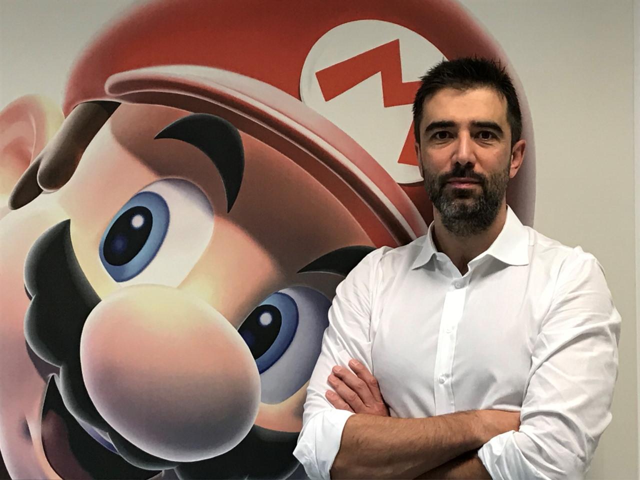 Nintendo Italia Fabrizio Sforza Cover