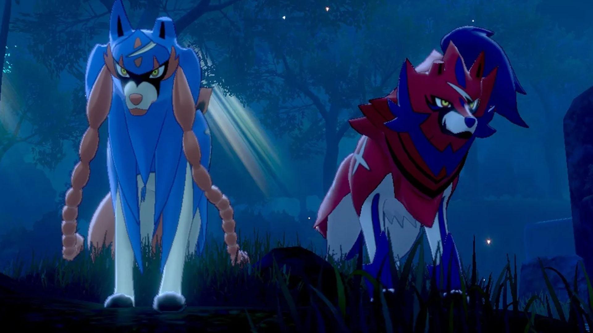 Pokémon Spada e Scudo Zacian e Zamazenta