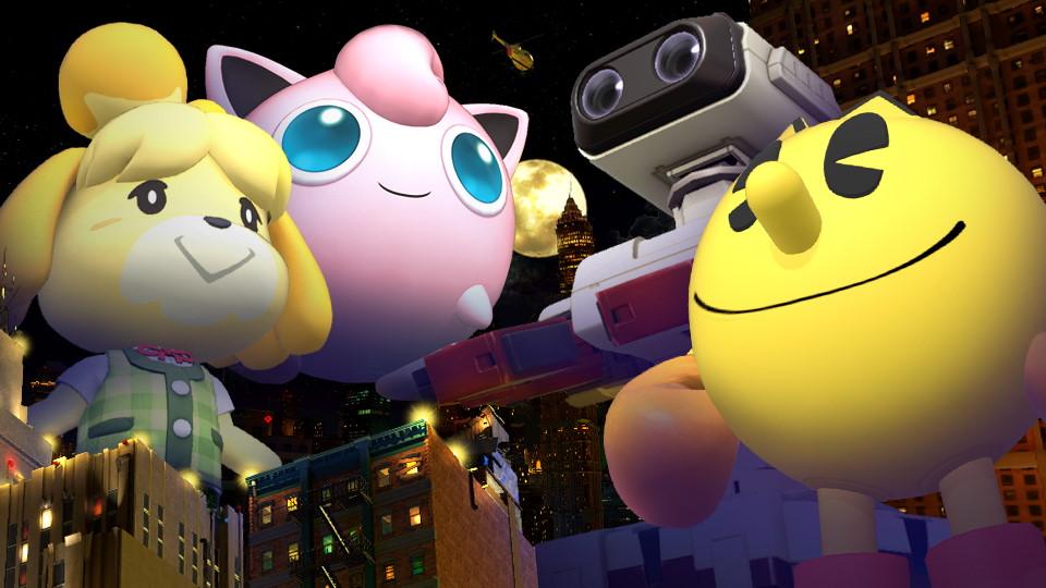 Super Smash Bros. Ultimate Gigantorneo Cover