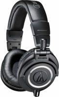 Foto di lato delle Audio Technica ATH-M50X Cuffie professionali per il monitoraggio