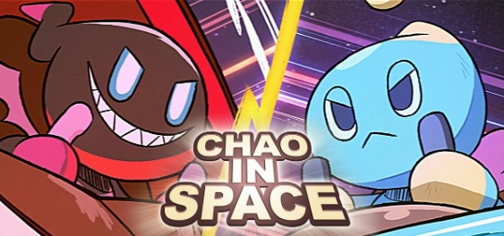 Cortometraggio Sonic Chao In Space locandina