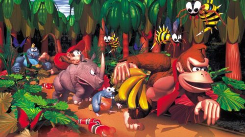 Screenshot Donkey Kong Country