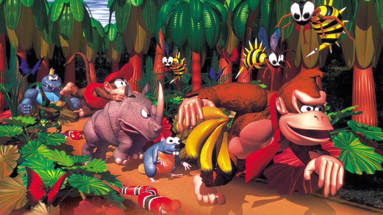 Screenshot Donkey Kong Country David Wise