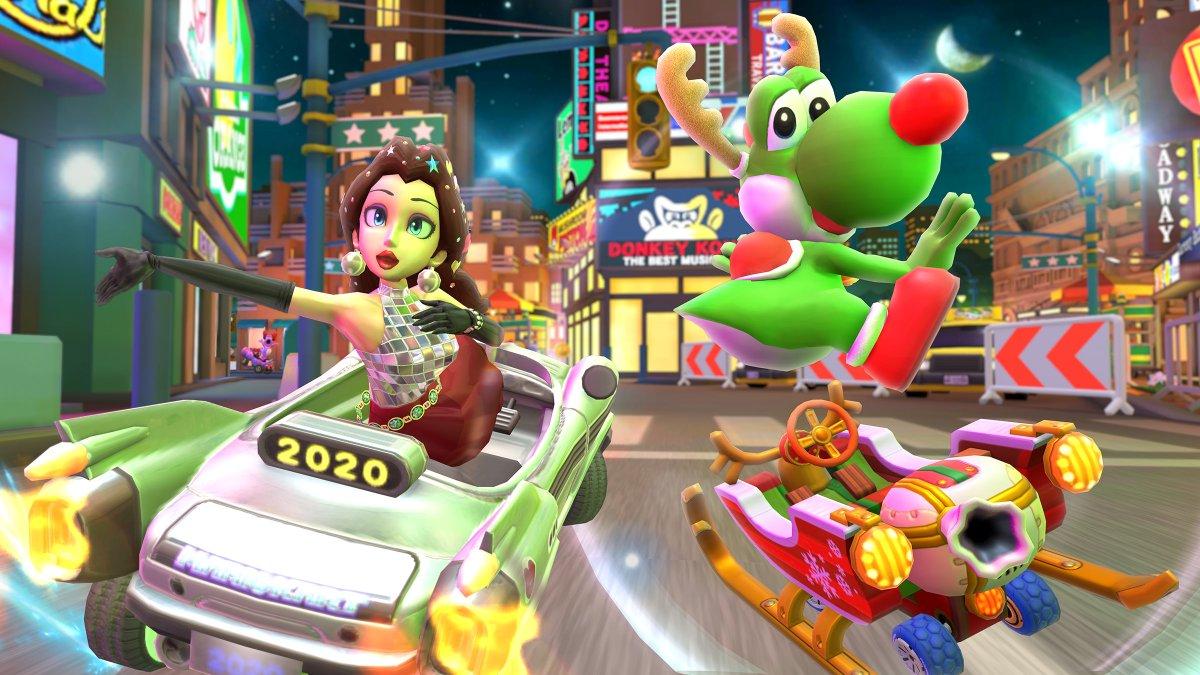 Mario Kart Tour festivo