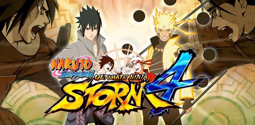 NARUTO SHIPPUDEN: Ultimate Ninja STORM 4 locandina