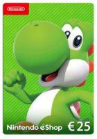 Foto frontale Nintendo eShop Carta regalo 25 EUR