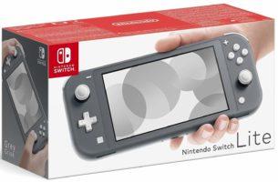 Scatola di Nintendo Switch Lite, Grigio